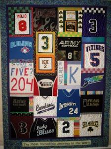 A Softball Quilt